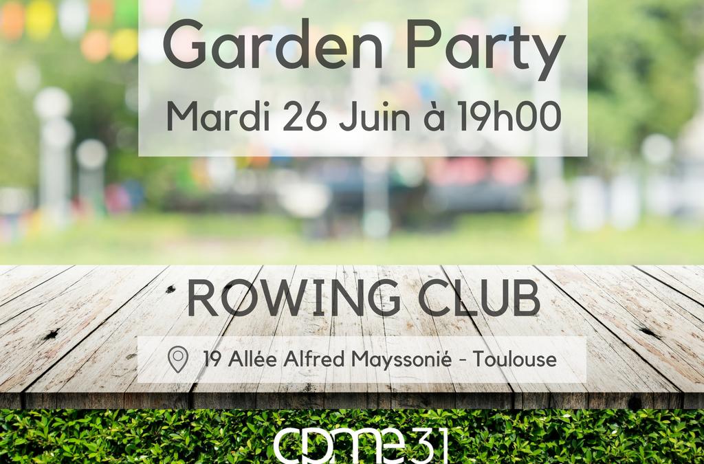 Soirée Adhérents – Garden Party